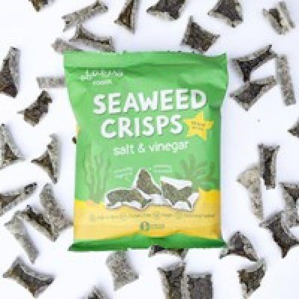 Abakus Foods Seaweed Crisps - Salt & Vinegar