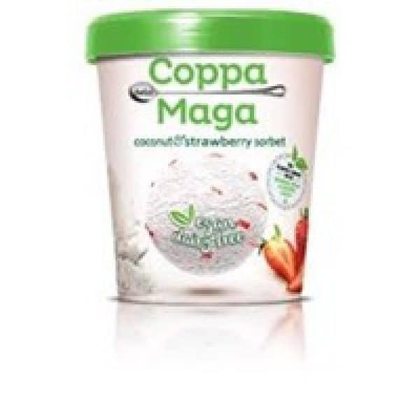 Coppa Della Maga Vegan Coconut & Strawberry Sorbet