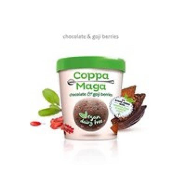 Coppa Della Maga Vegan Chocolate & Goji Berries Ice Cream