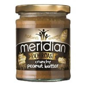 Meridian Richer Roast Crunchy Peanut Butter