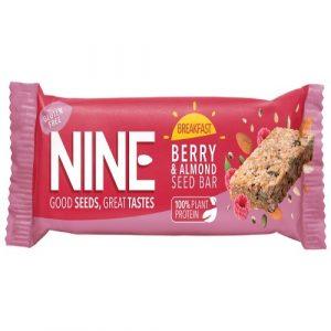 Berry & Almond Seed Bar, Gluten-Free 50g (9Bar)