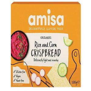 Corn & Rice Crispbread 150g (Amisa)