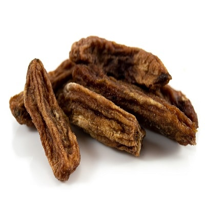 Organic Dried Raw Baby Bananas 1kg (Sussex Wholefoods)