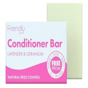 Conditioner Bar Lavender & Geranium 95g (Friendly Soap)