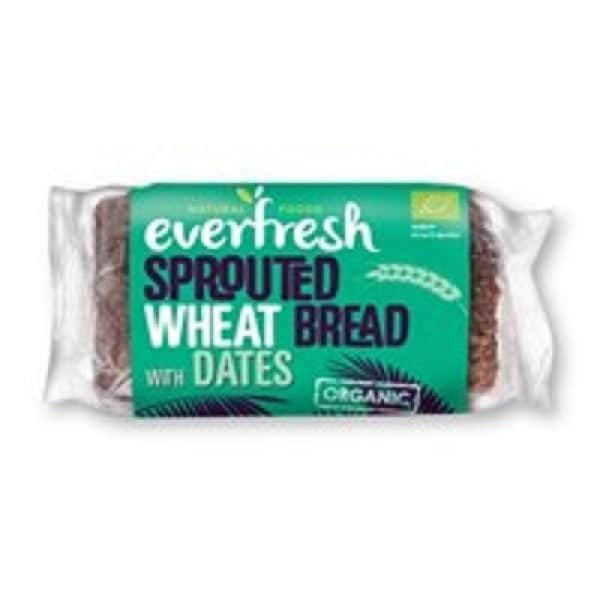 Everfresh Natural Foods Organic Sprouted Date Bread