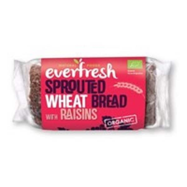 Everfresh Natural Foods Organic Sprouted Raisin Bread