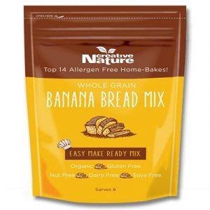 Banana Bread Mix, Organic 250g (Creative Nature)