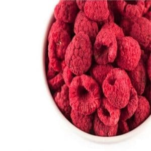 Freeze-Dried Raspberries 100g (Sussex Wholefoods)