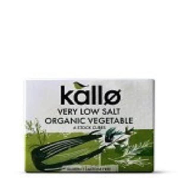 Kallo Low Salt Vegetable Stock Cubes