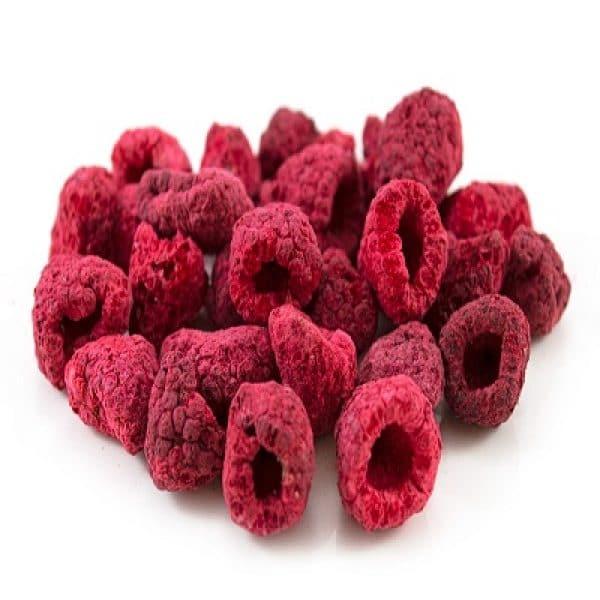 Organic Freeze Dried Raspberries 100g (Sussex Wholefoods)