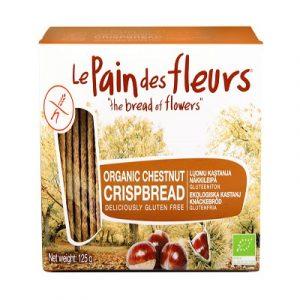 Gluten Free Chestnut Crispbread, Organic (Le Pain des Fleurs)
