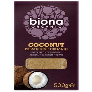 Coconut Palm Sugar 500g, Organic (Biona)