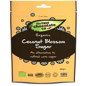 Coconut Blossom Sugar 230g, Organic (Raw Chocolate Co)