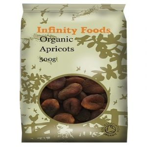 Dried Apricots, Unsulphured Organic, 500g (Infinity Foods)
