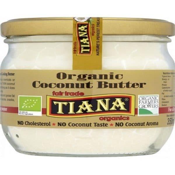 100% Pure Organic Coconut Butter 350ml (Tiana)