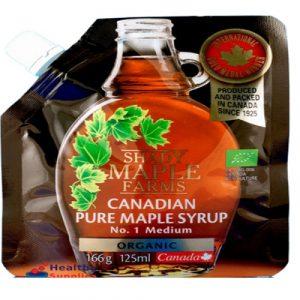 Organic Maple Syrup, 125ml Pouch (Shady Maple Farms)