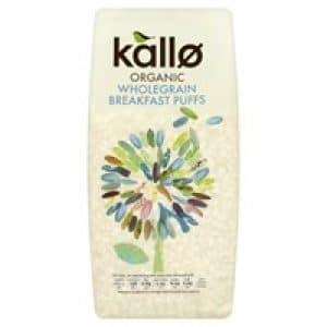 Kallo Organic Puffed Rice Cereal