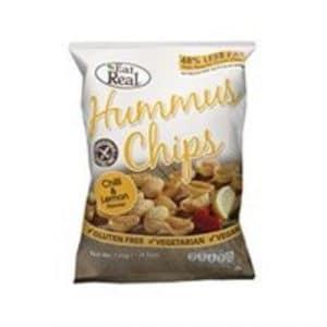 Cofresh Eat Real Hummus Chips Lemon and Chilli
