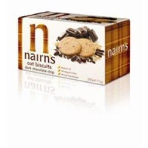 Nairns Dark Chocolate Chip Oaty Biscuits