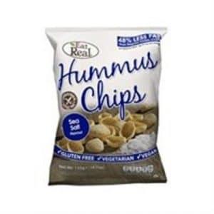 Cofresh Eat Real Hummus Chips Sea Salt