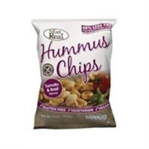 Cofresh Eat Real Hummus Chips Tomato and Basil