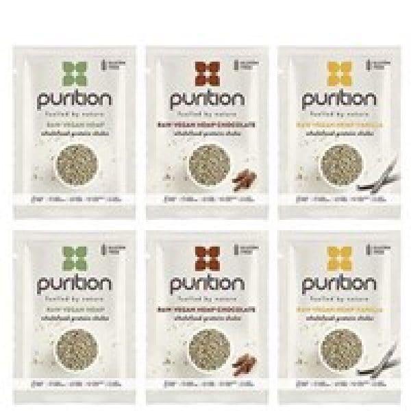 Purition Raw Vegan Hemp Protein Shake 40g Sachet