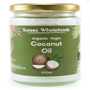 Virgin Coconut Oil, Organic 200ml (Clearspring)