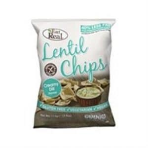 Cofresh Eat Real Lentil Chips Creamy Dill