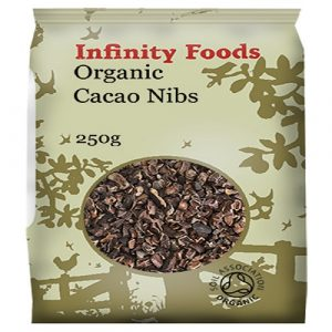 Cacao Nibs, Raw Organic 250g (Infinity Foods)