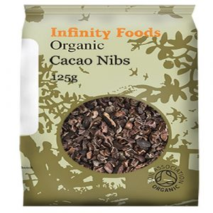 Cacao Nibs, Raw Organic 125g (Infinity Foods)