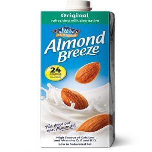Almond Breeze Milk Original 1 Litre (Blue Diamond)