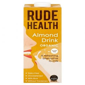 Almond Drink, Organic 1 Litre (Rude Health)