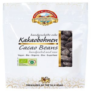 Cacao Beans, Organic, 100g (Pearls of Samarkand)