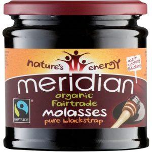 Blackstrap Molasses, Organic 350g (Meridian)