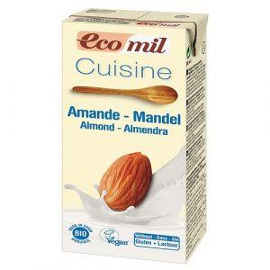 Almond 'Cream' Cuisine, Organic 200ml (Ecomil)
